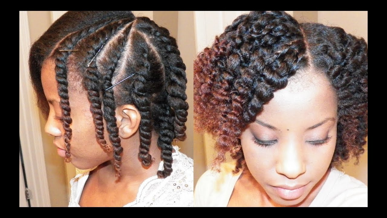 The Best Flat Twist Out On Blown Out Natural Hair Youtube Pictures