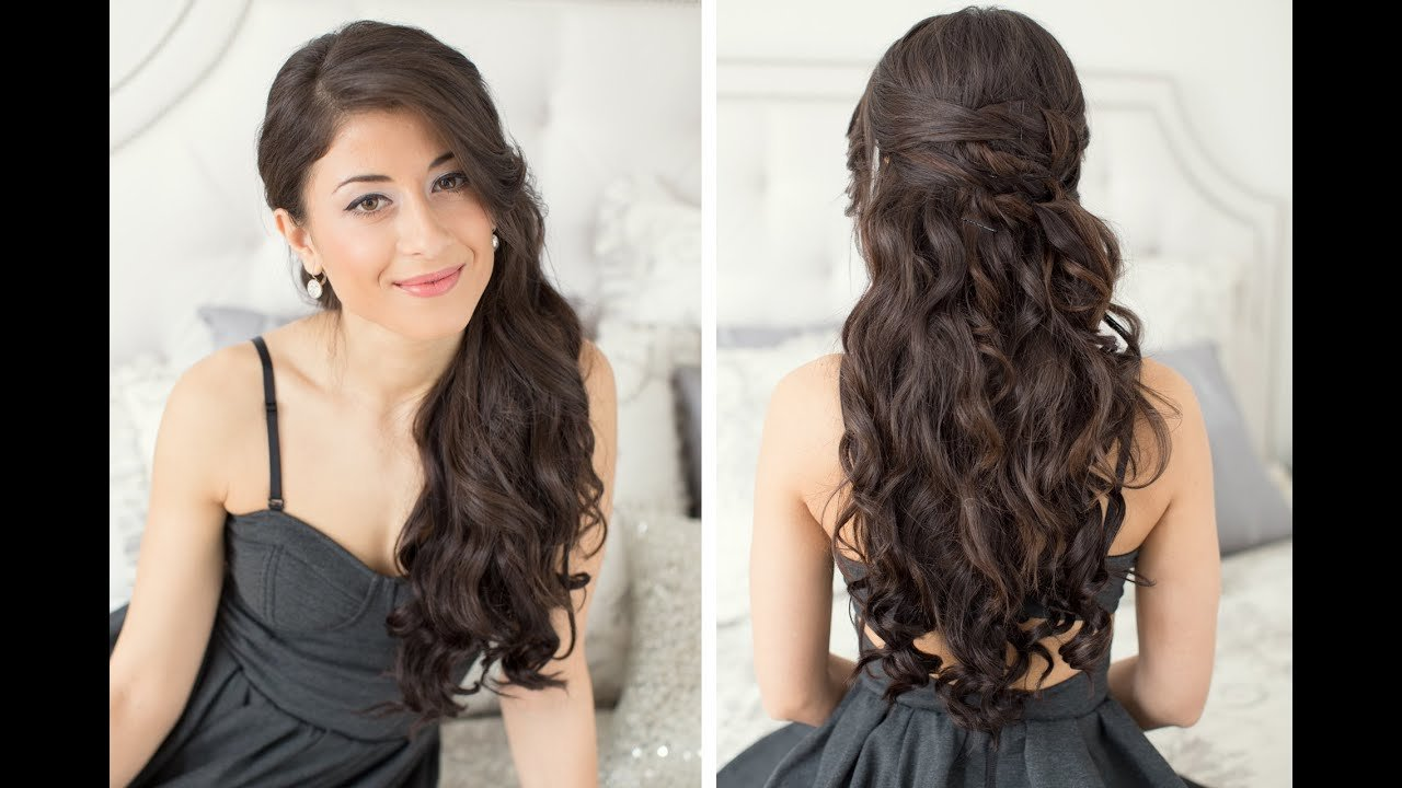 The Best Valentine S Day Hair Tutorial Youtube Pictures