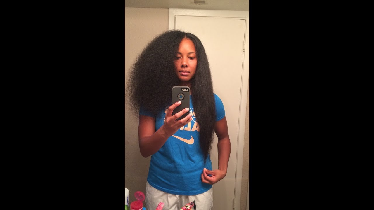 The Best Curly To Straight L Chi Flat Iron On Natural Hair Youtube Pictures