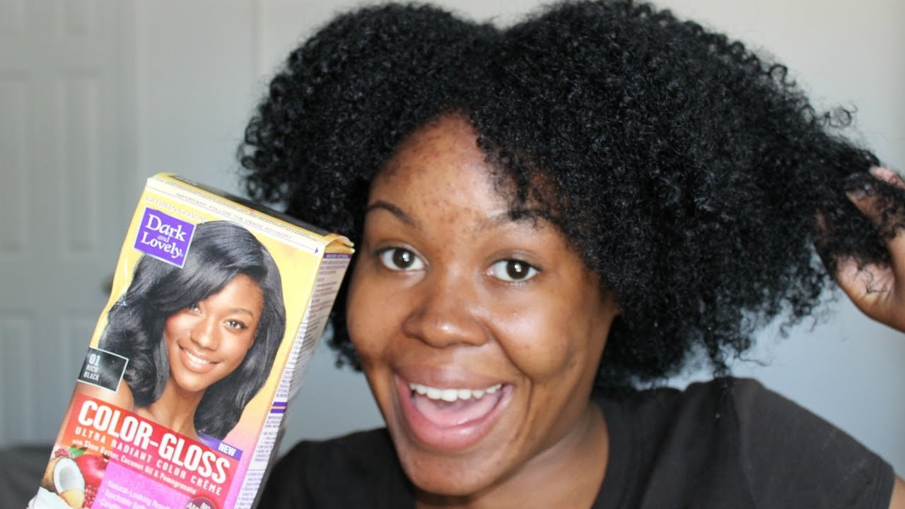 The Best Dark And Lovely Color Gloss Hair Dye In Rich Black Demo Pictures