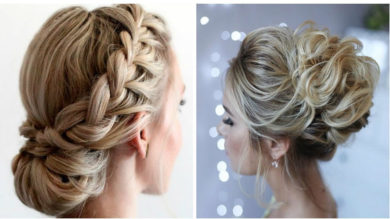 The Best 2018 Prom Hairstyles Youtube Pictures