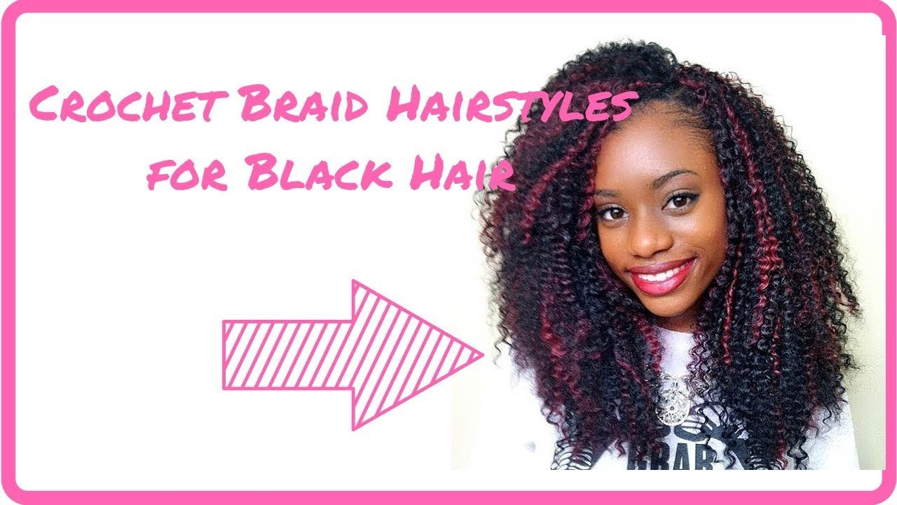 The Best 2019 Crochet Braid Hairstyles For Black Hair African Pictures