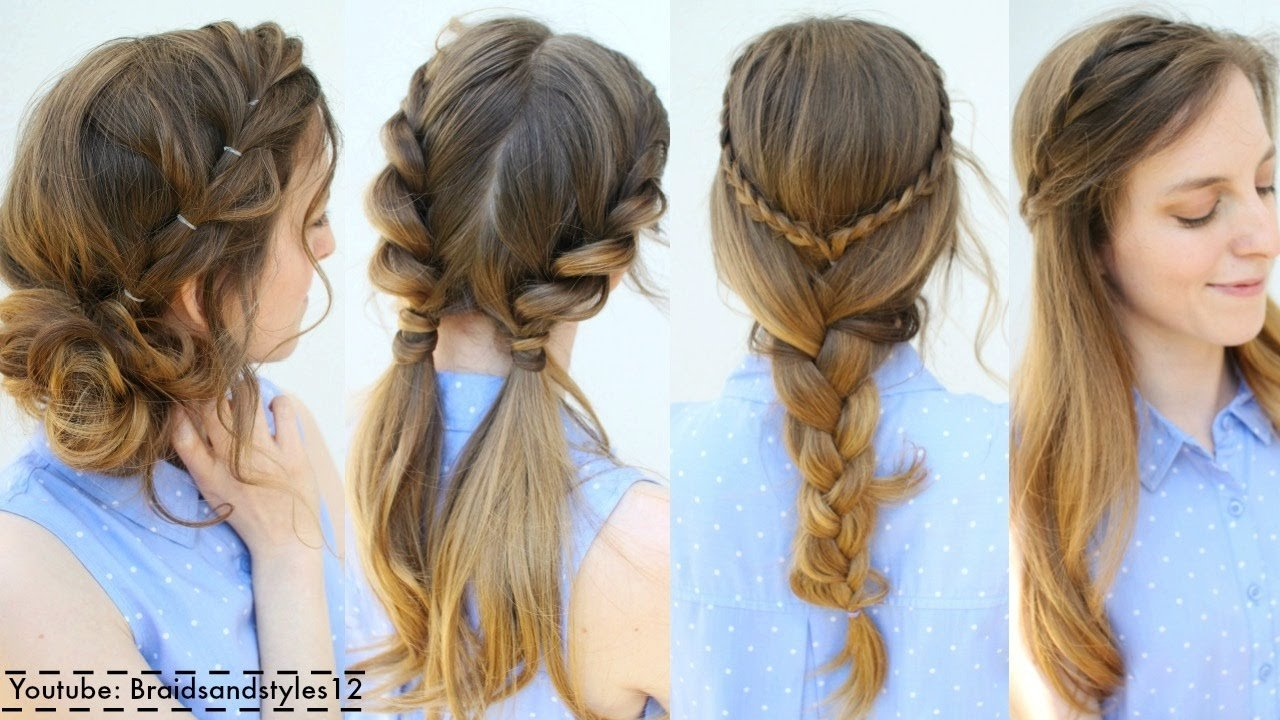 The Best 4 Easy Summer Hairstyle Ideas Summer Hairstyles Pictures