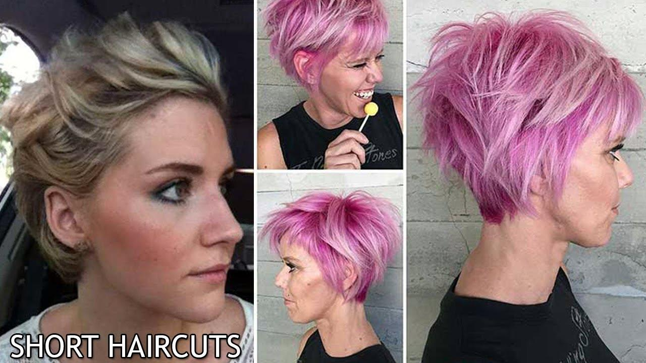 The Best New Short Haircut Style For Women 2017 2018 Short Pictures