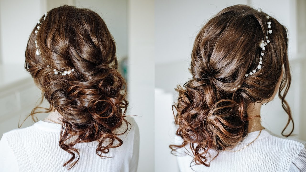 The Best Easy Romantic Wedding Hairstyle For Long Medium Hair Pictures