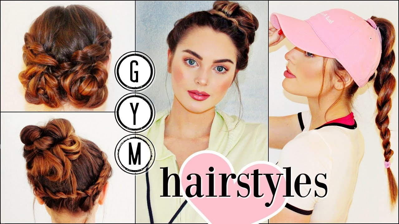The Best Gym Hairstyles For Long Hair Sporty Hair Hacks Youtube Pictures