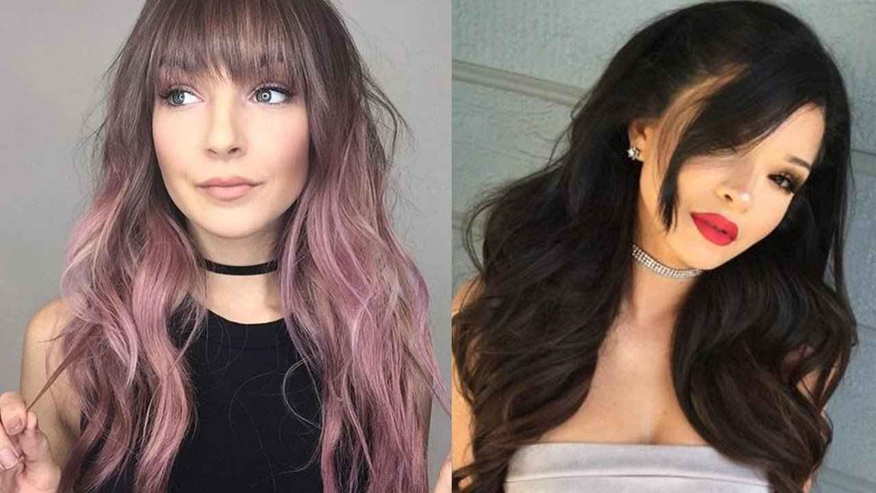 The Best New Long Hairstyles With Bangs Long Hair Bangs Style Pictures