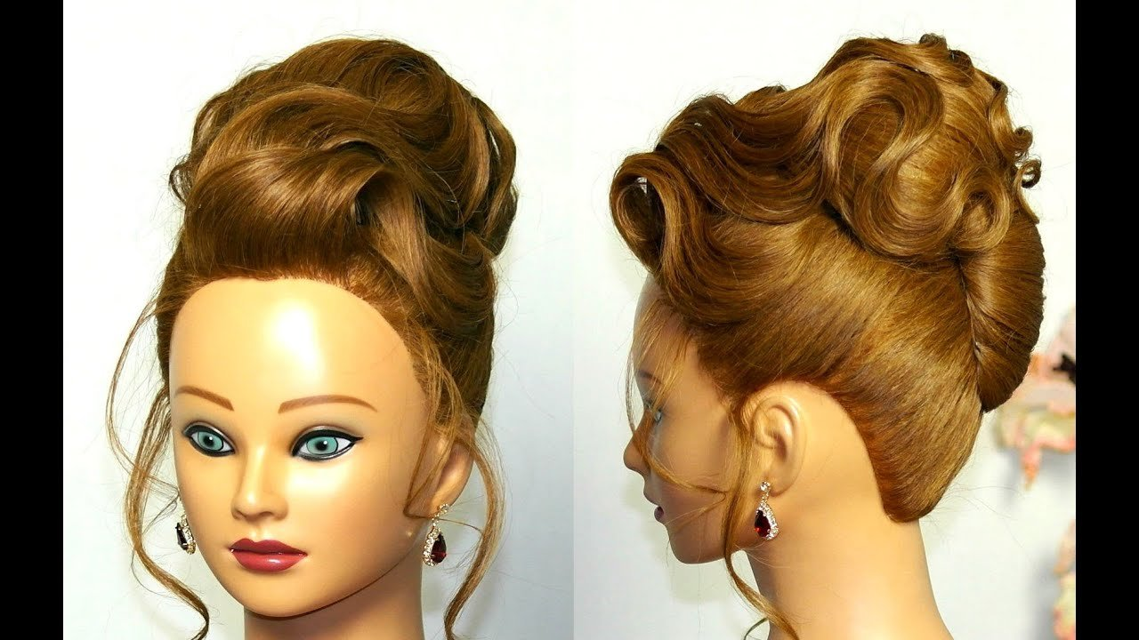 The Best Elegant Updo Hairstyle For Medium Long Hair Youtube Pictures