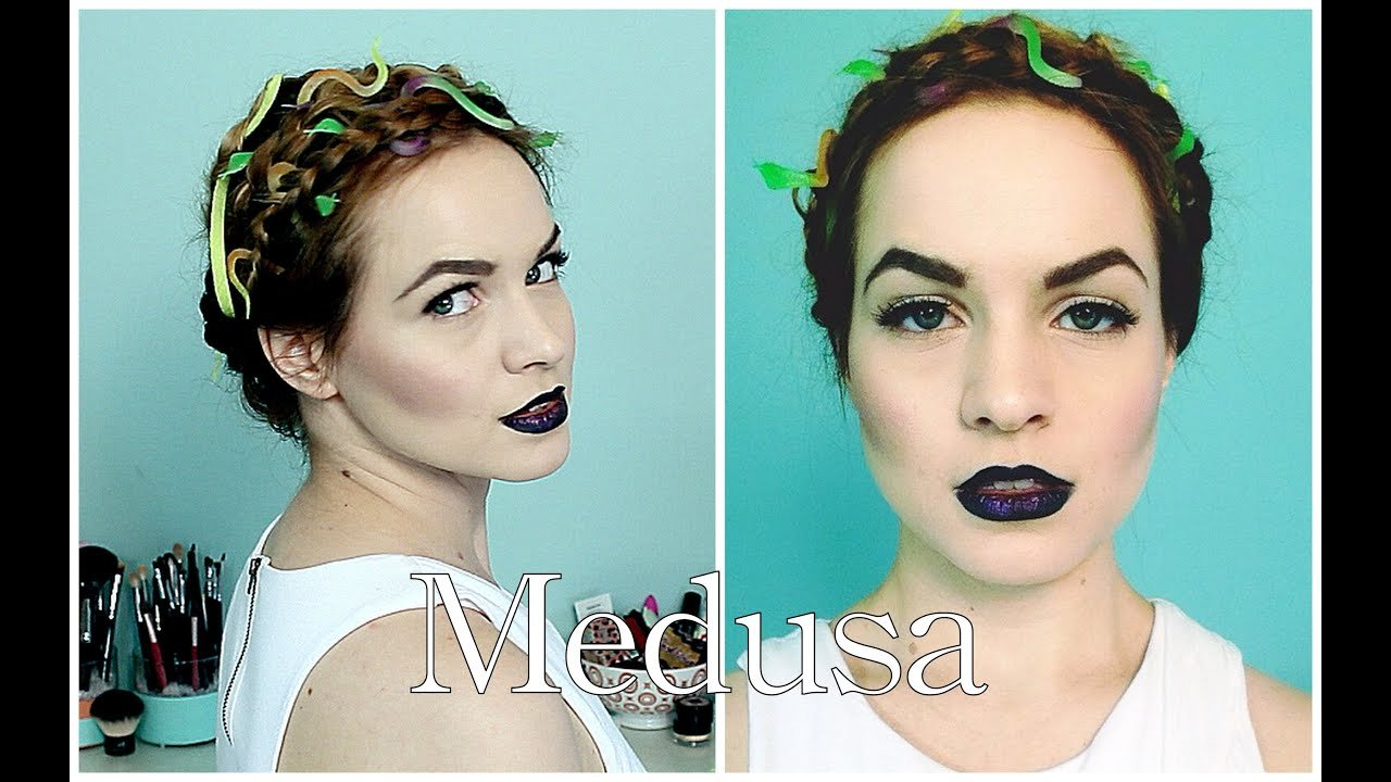 The Best Medusa Halloween Hair Tutorial Youtube Pictures