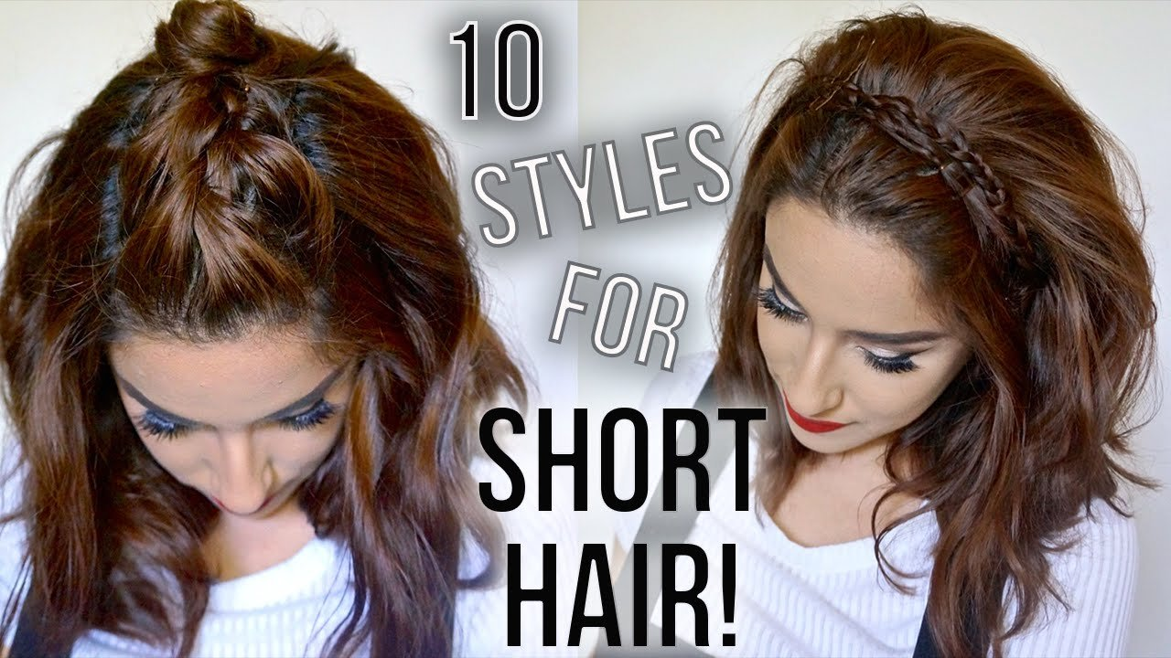 The Best 10 Hairstyles For Short Hair Quick Easy How I Pictures