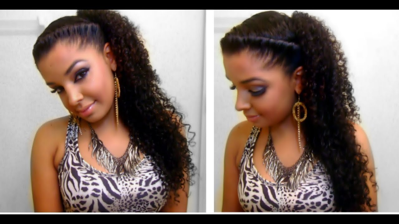 The Best How To Easy Quick Cute Twist Side Natural Curly Pictures