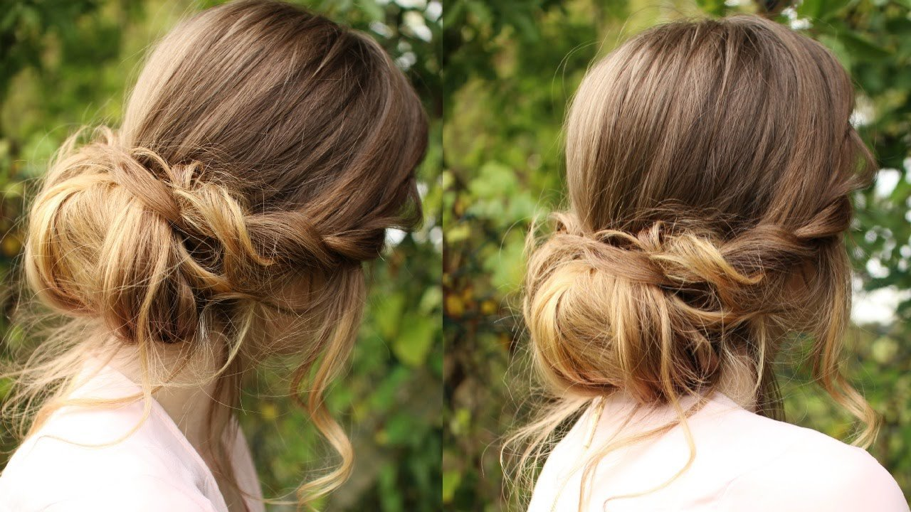 The Best Chignon Hairstyle Tutorial Soft Updo Braidsandstyles12 Pictures