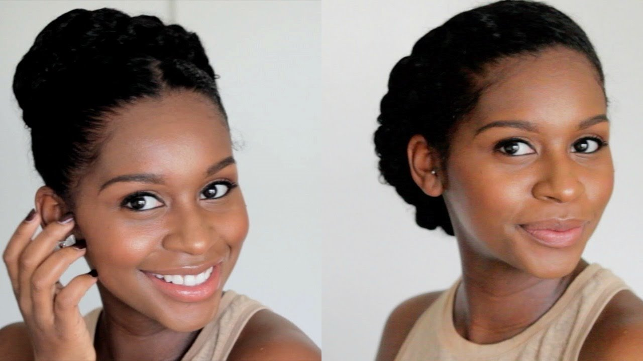 The Best My Go To Protective Styles Using Flaxseed Gel 2 Pictures