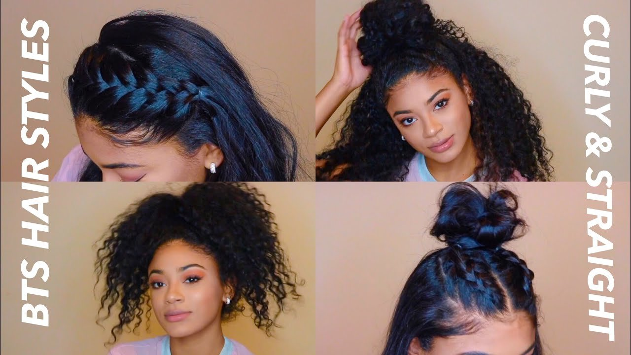 The Best Back To School Hairstyles Curly Straight Jasmeannnn Pictures