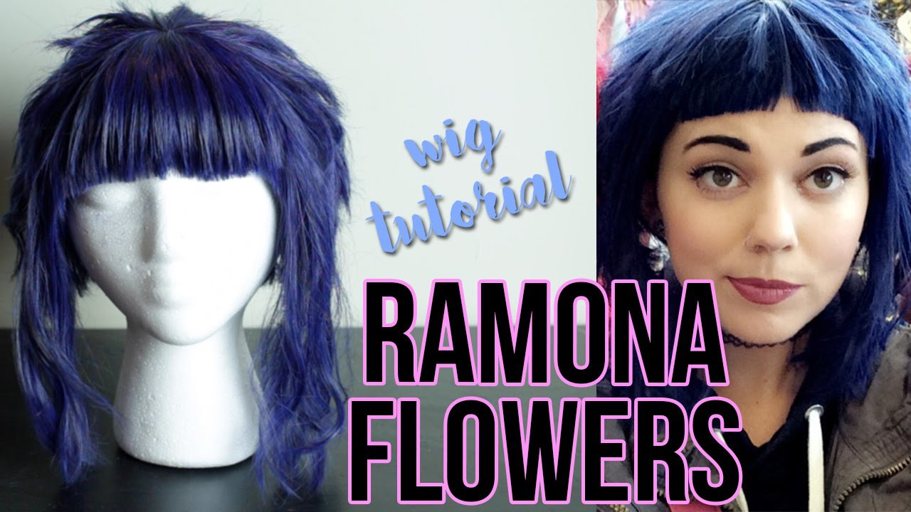 The Best How To Cut Style A Ramona Flowers Wig Youtube Pictures