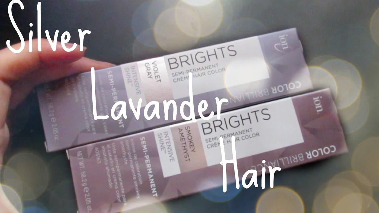 The Best Dying My Hair Silver Lavander Ion Color Brilliance Pictures