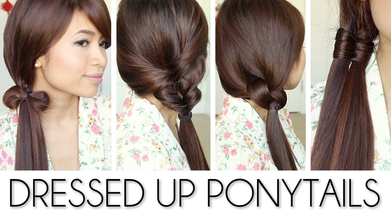 The Best Back To School Ponytail Hairstyles For Medium Long Hair Pictures