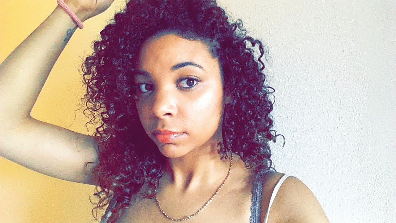The Best Mixed Girl Hair How To Natural Curls No Heat Youtube Pictures
