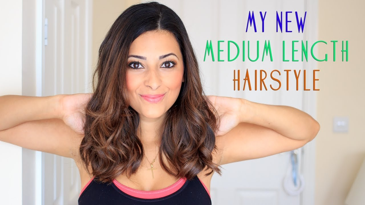 The Best My Medium Length Hairstyle 2013 2 Ysis Lorenna Youtube Pictures