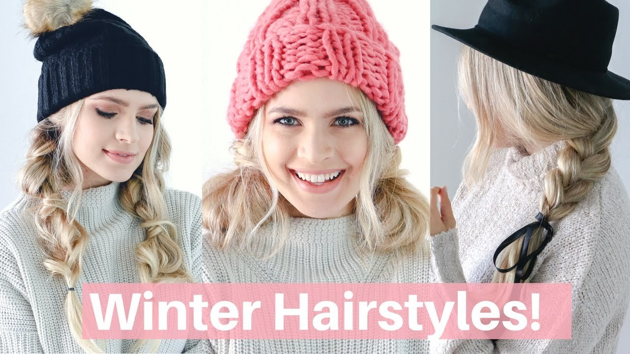 The Best Easy Hairstyles For Winter Hats And Scarves Hair Pictures