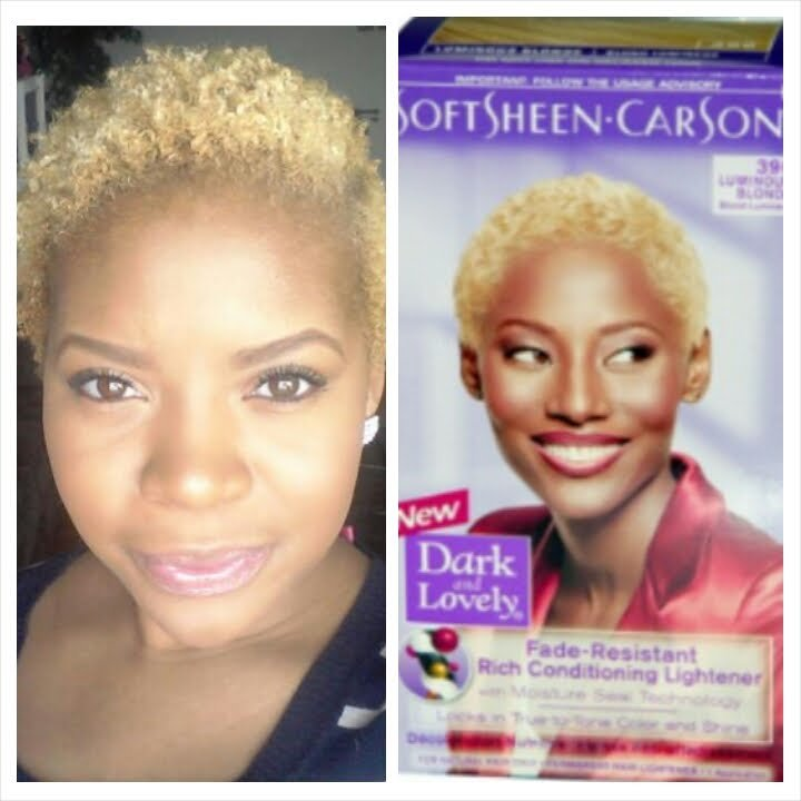 The Best Dark Lovely Luminous Blonde On Natural Hair Youtube Pictures