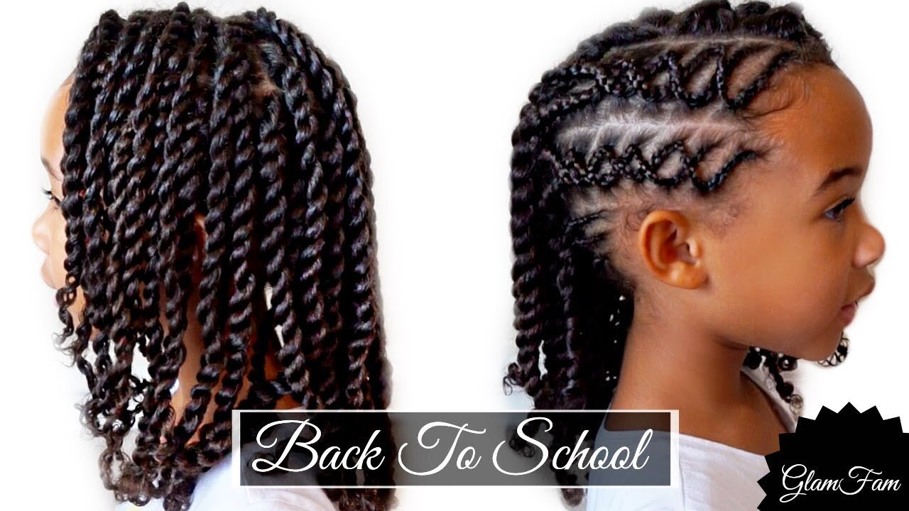 The Best Braided Children S Hairstyle Back To School Hairstyles Pictures