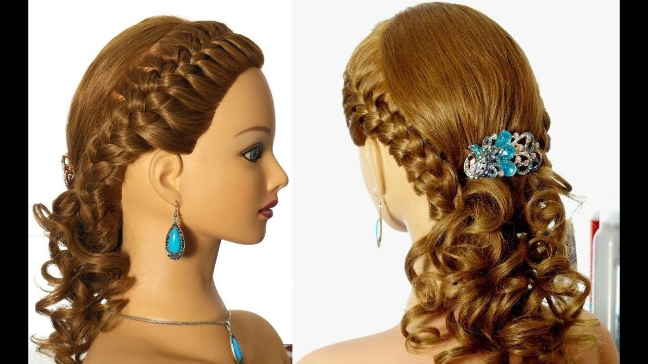 The Best Romantic Braided Prom Hairstyle For Long Hair Youtube Pictures