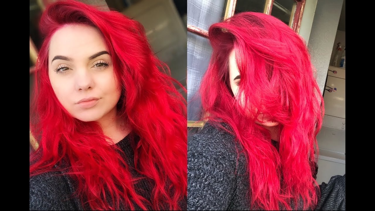 The Best How To Dye And Maintain Bright Red Hair Without Bleach Pictures