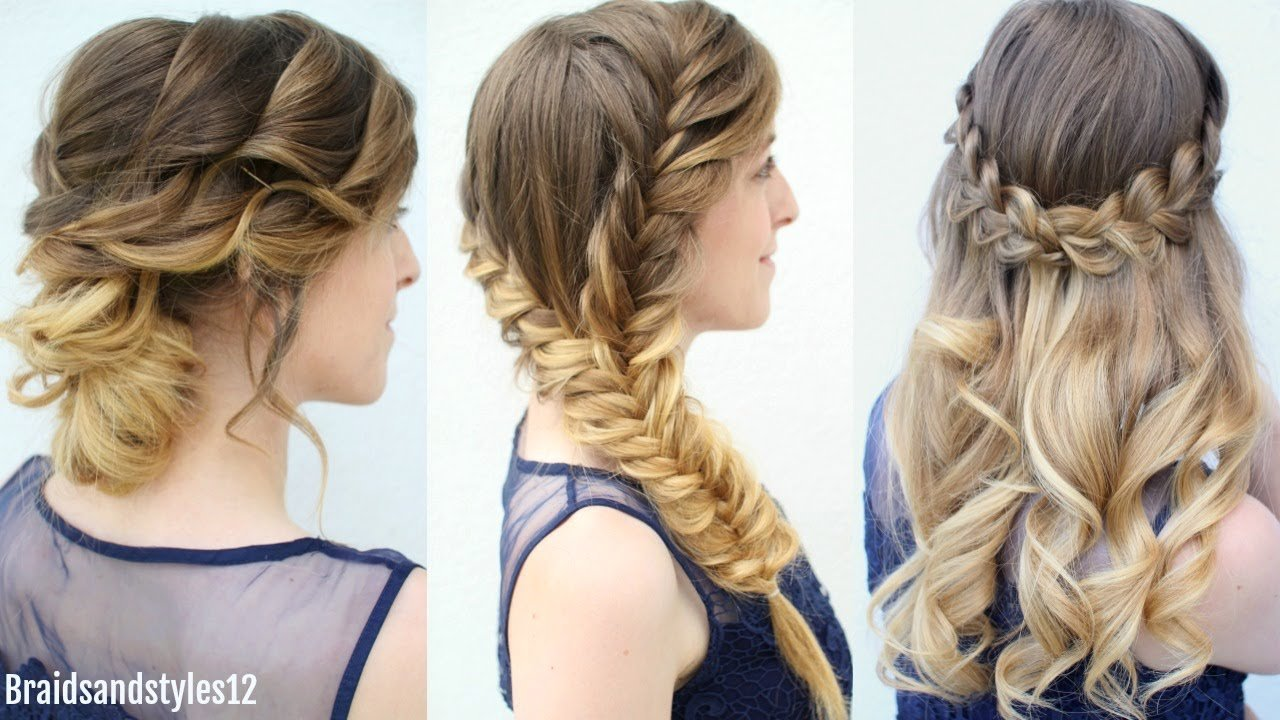 The Best 3 Graduation Hairstyles To Wear Under Your Cap Formal Pictures
