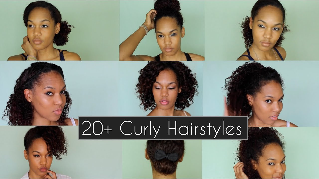 The Best 20 Quick Chic Curly Hairstyles For Everyday Nights Pictures