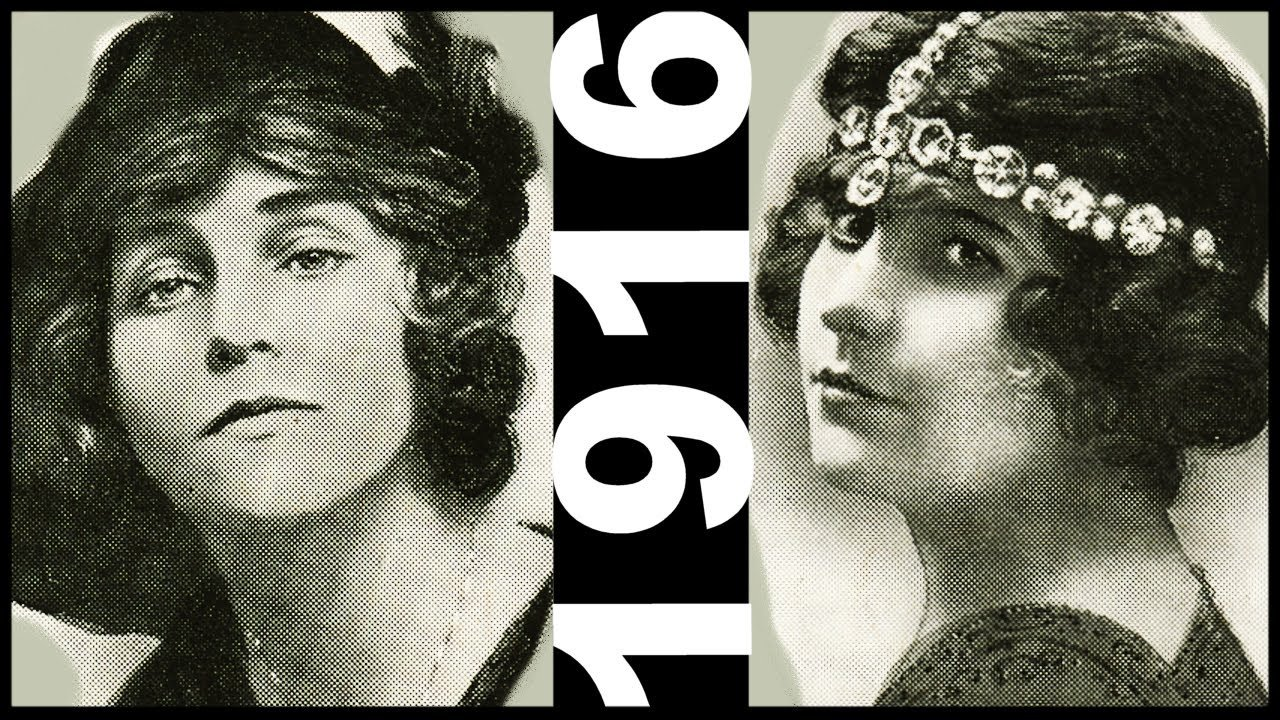 The Best Dangerous Beauties 1910 S Movie Stars Edwardian Hairstyle Pictures