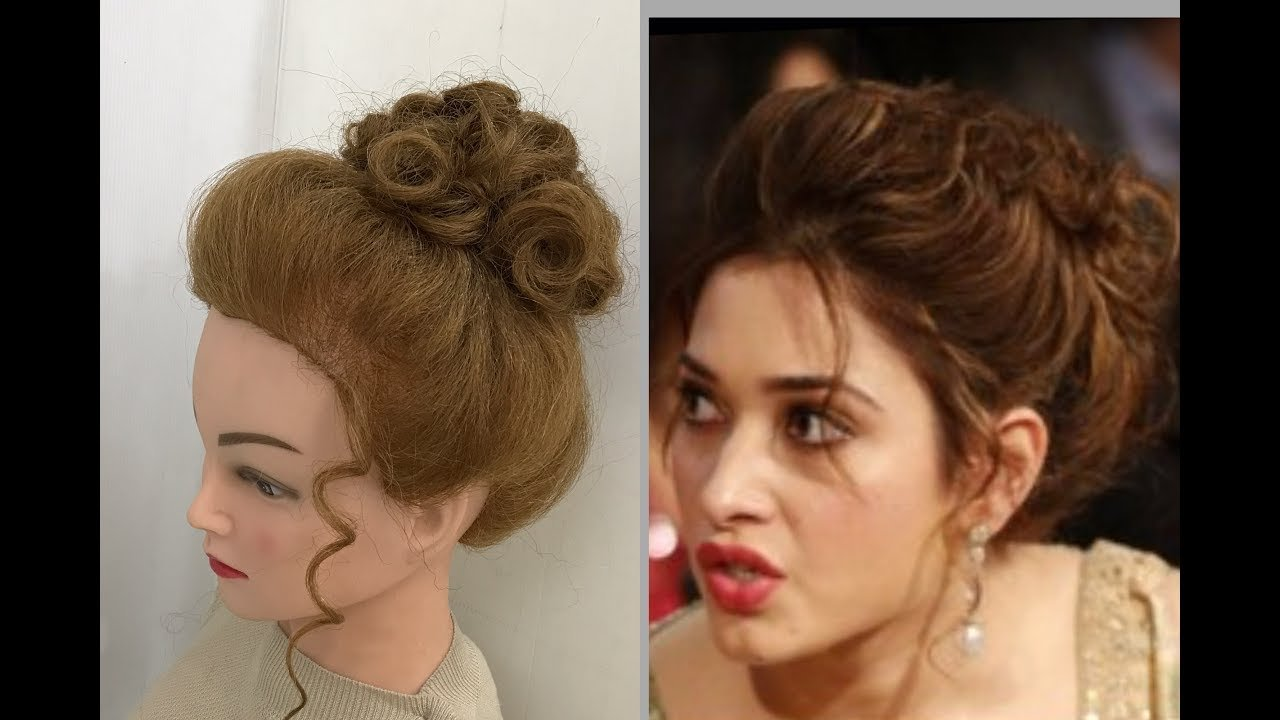 The Best Beautiful Hairstyles With Puff Easy Party Hairstyles Pictures