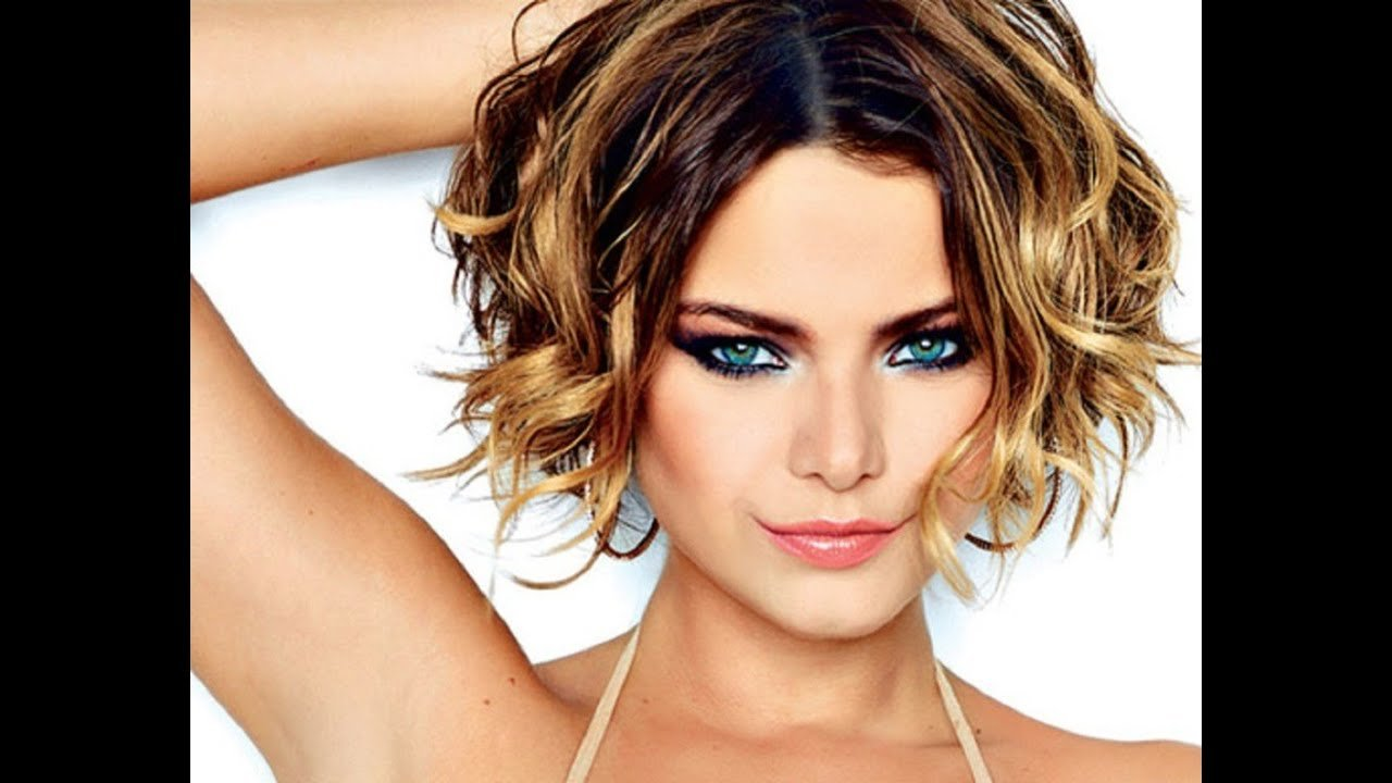 The Best Short Hairstyles For Wavy Hair Youtube Pictures