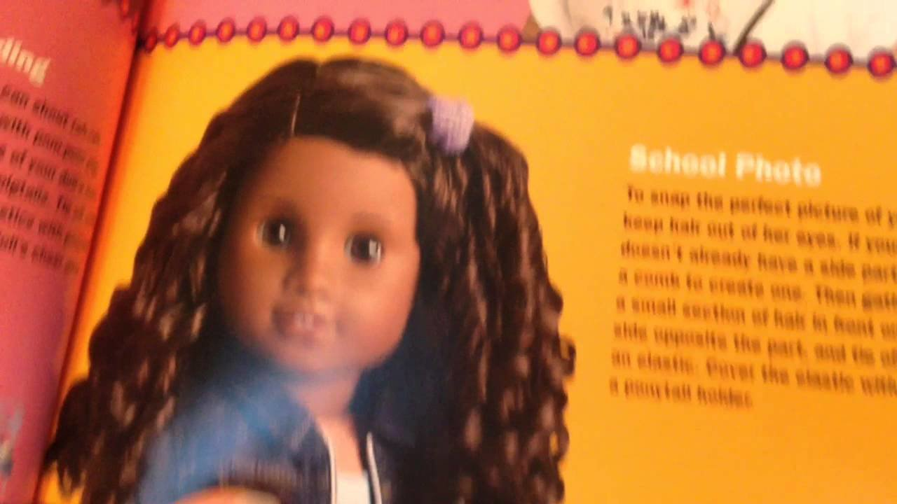 The Best American Girl Doll Hair Salon Book Kit Opening And Review Pictures