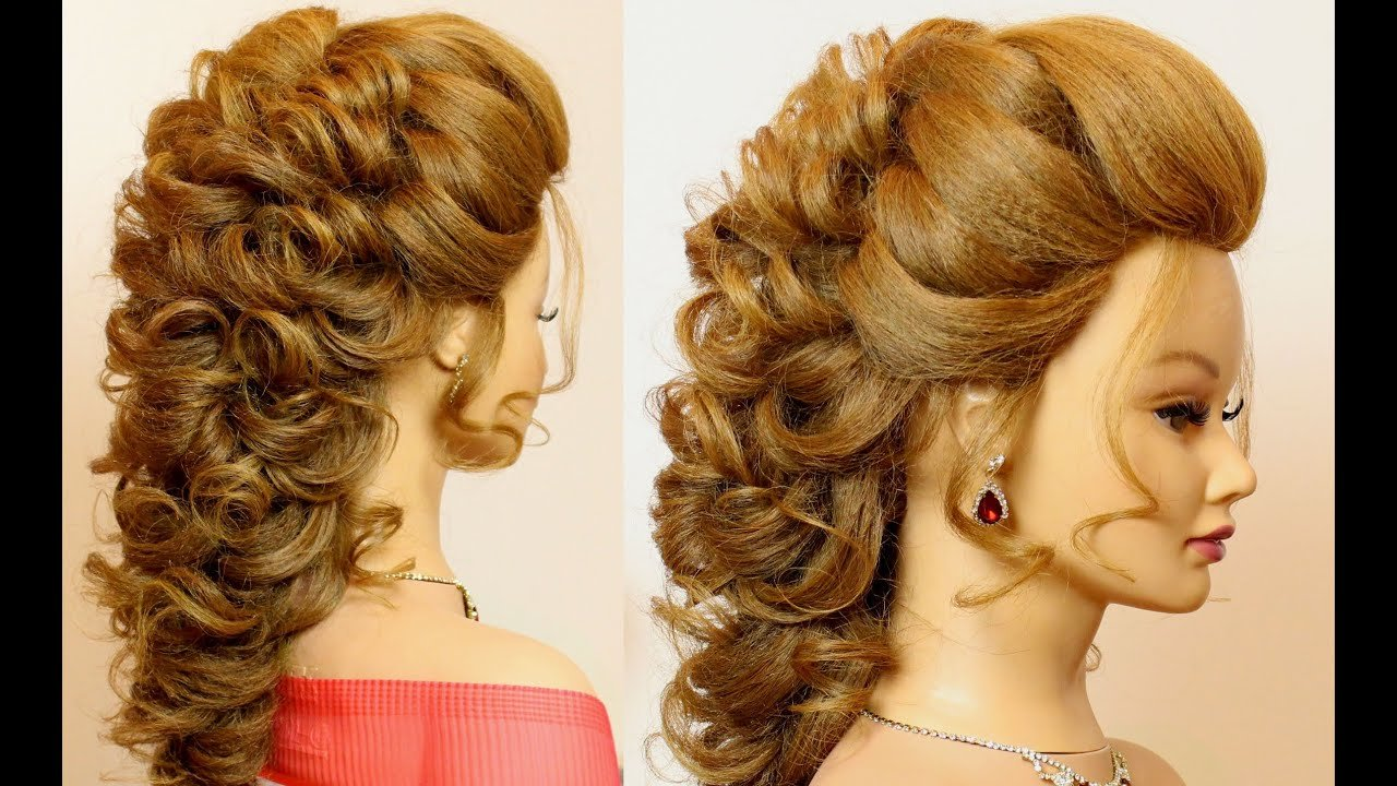 The Best Bridal Prom Hairstyle For Long Hair Tutorial Step By Step Pictures