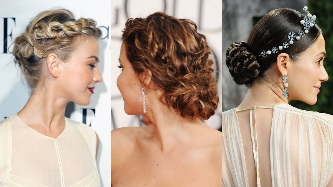 The Best Bride Wedding Guest And Maid Of Honor Hairstyles Youtube Pictures