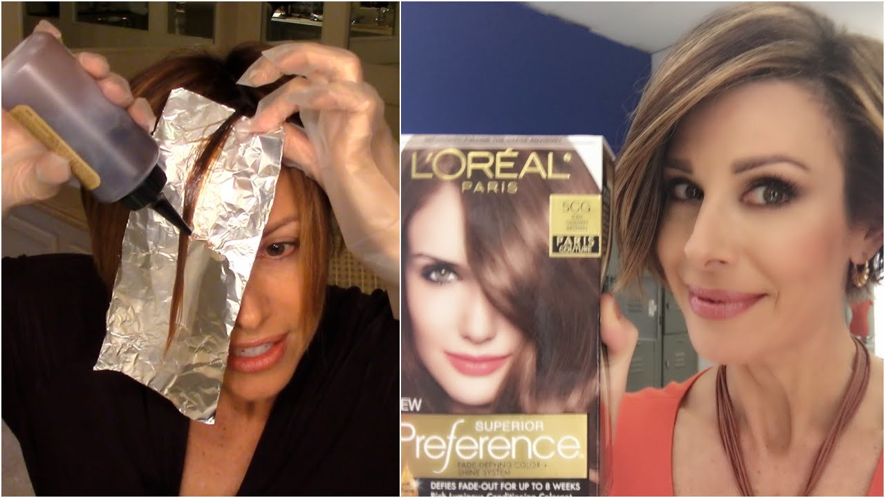 The Best How To Color Your Hair At Home Youtube Pictures