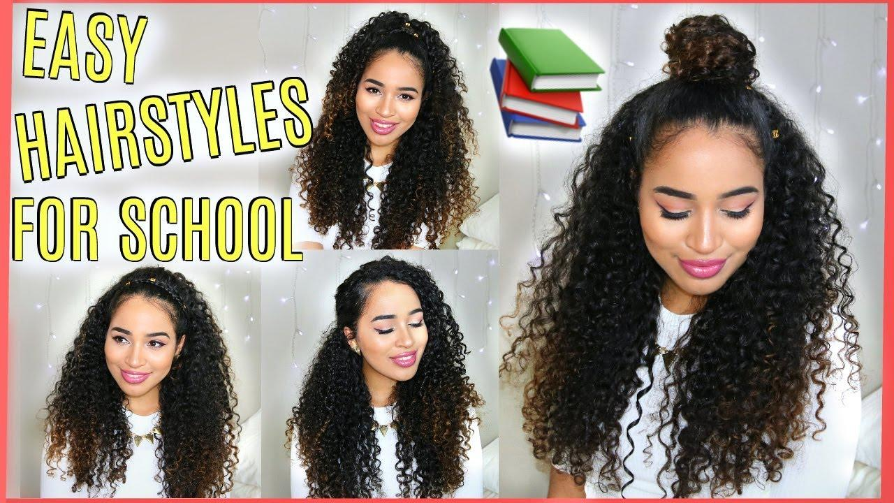 The Best 4 Buildable Back To School Hairstyles For Naturally Curly Pictures