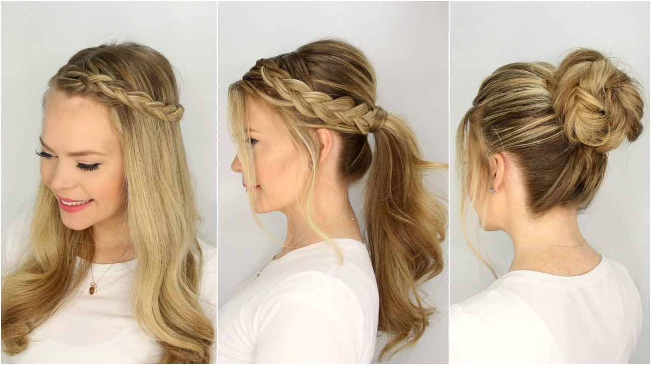 The Best 3 Summer Hairstyles Missy Sue Youtube Pictures