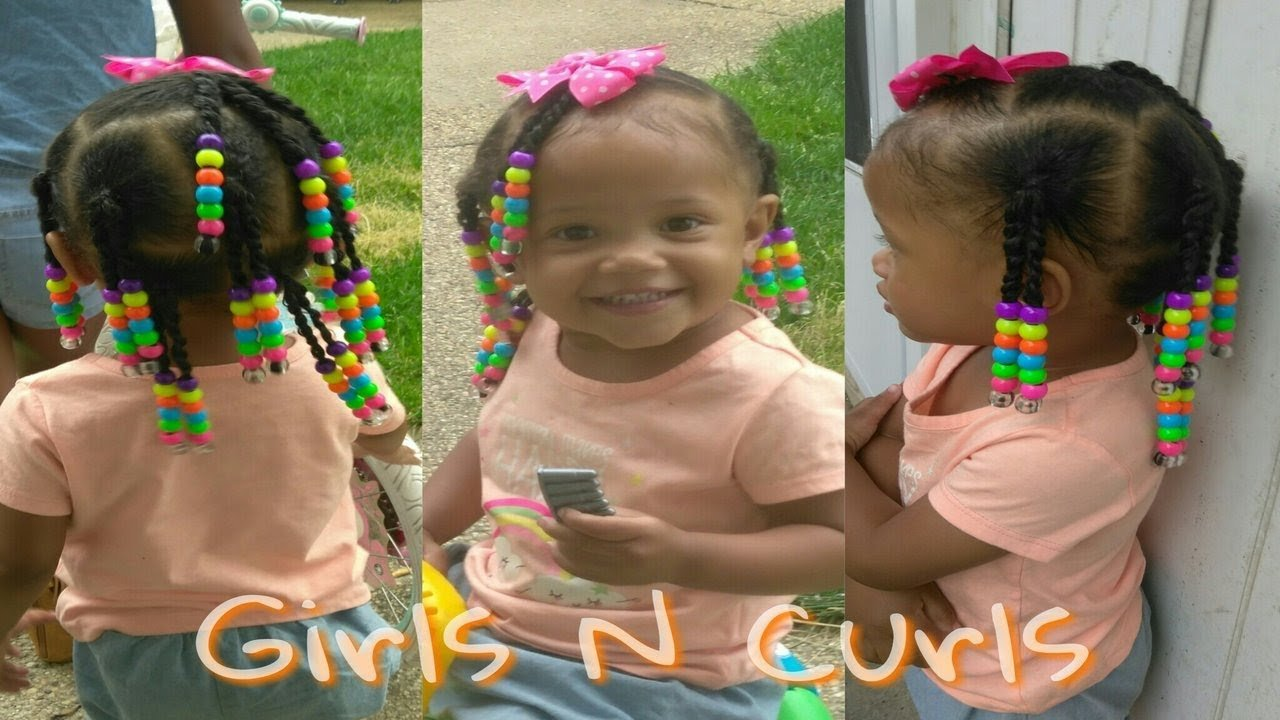 The Best Simple Hairstyle For 1 Year Old Toddler Natural Hair Pictures