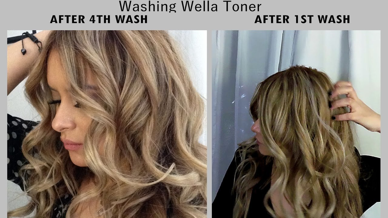 The Best Wella Toner On Hair After Several Washes Jackieeffex Youtube Pictures