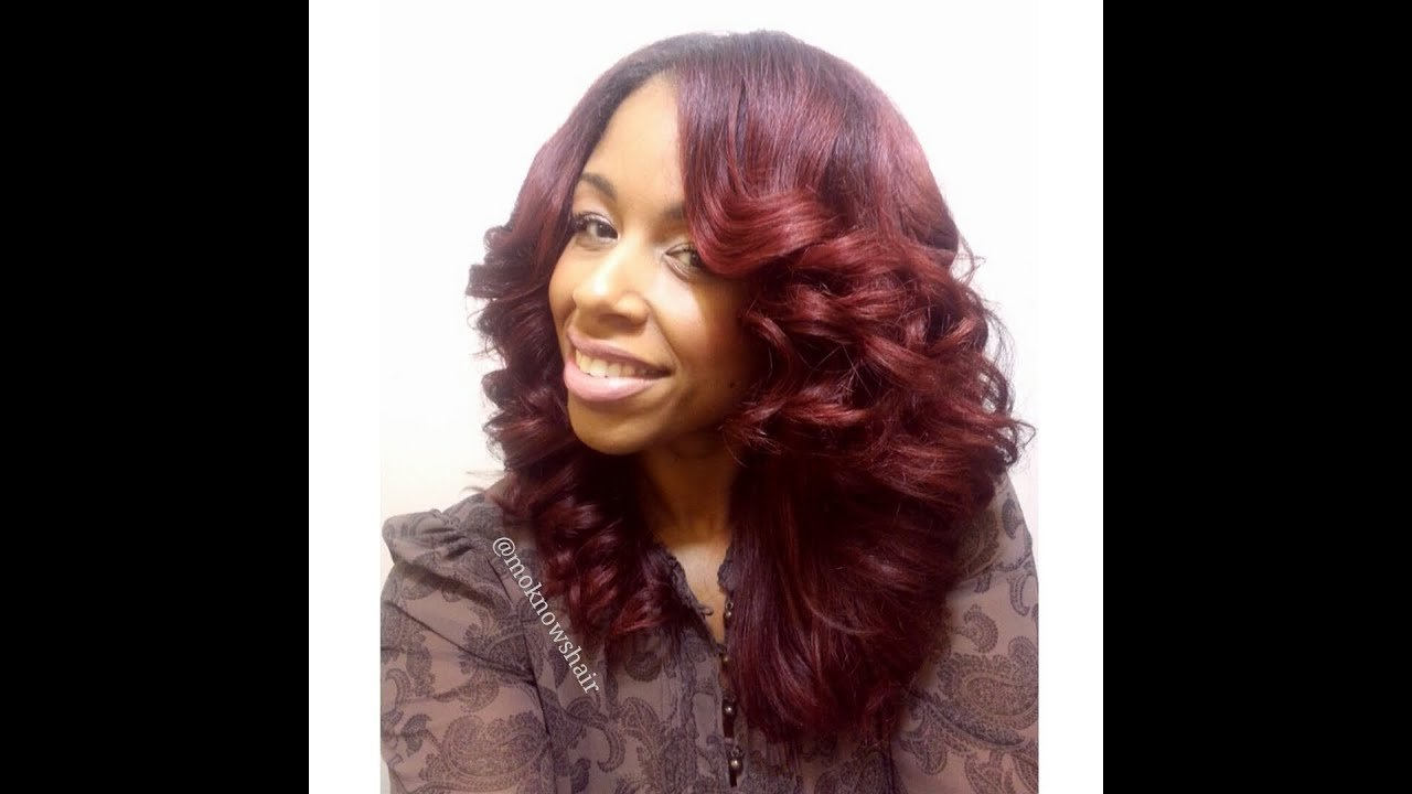 The Best Flat Iron Curls Youtube Pictures