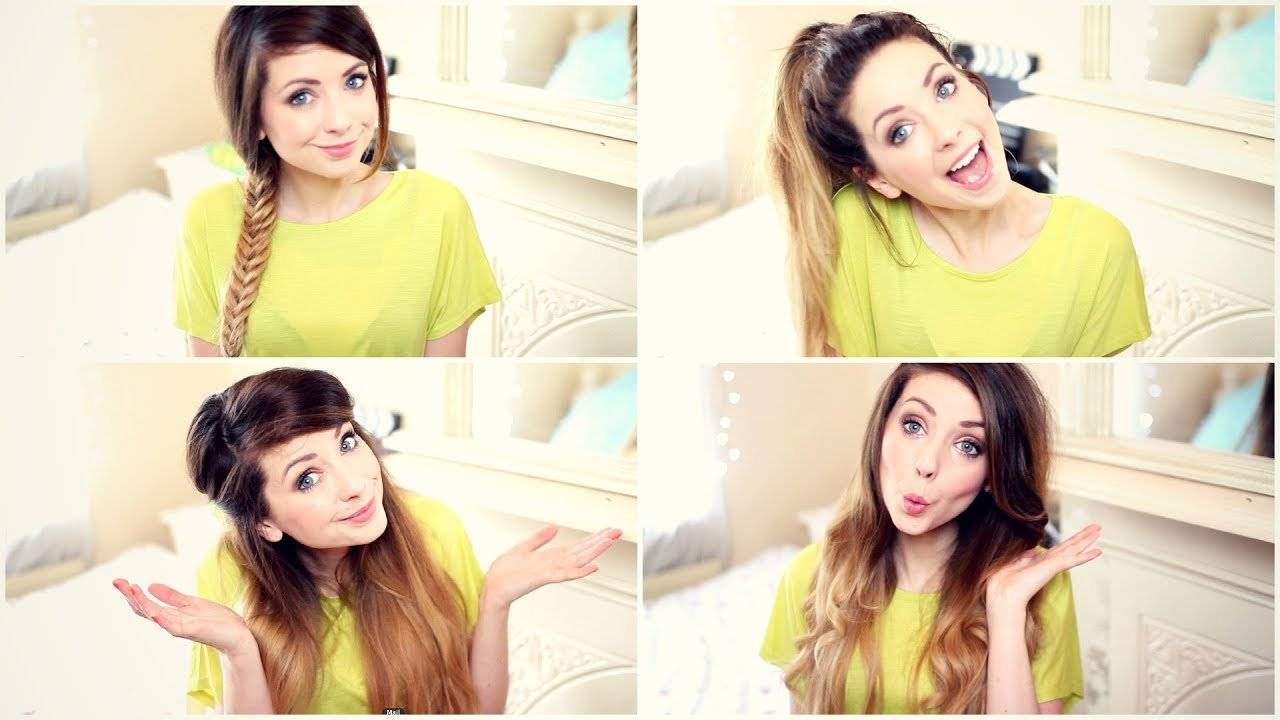 The Best How To My Quick And Easy Hairstyles Zoella Youtube Pictures