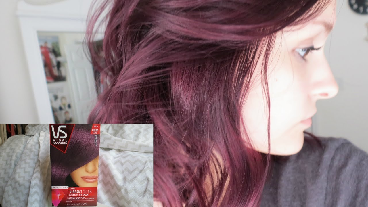 The Best Dying My Hair Purple Vidal Sassoon London Lilac Pictures