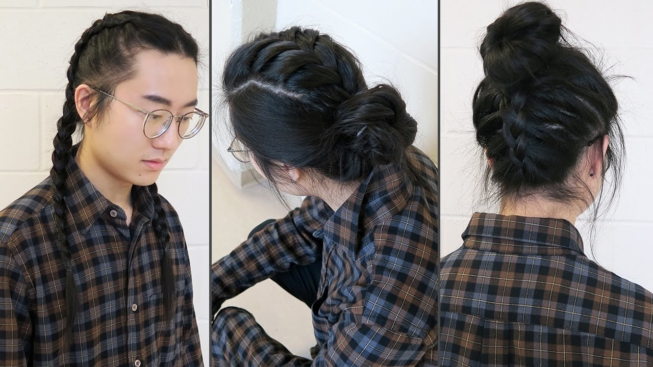 The Best Braid Styles Men Long Hairstyles Youtube Pictures
