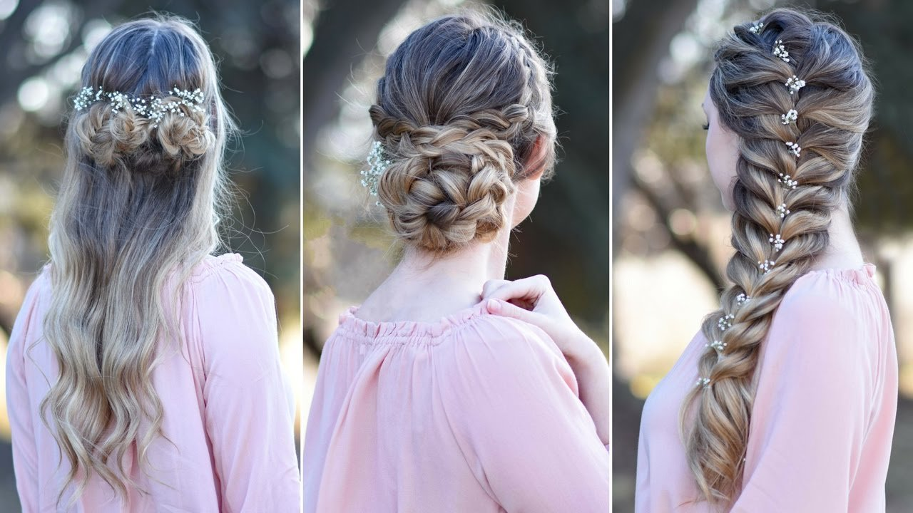 The Best 3 Prom Hairstyles Updo Cute Girls Hairstyles Youtube Pictures