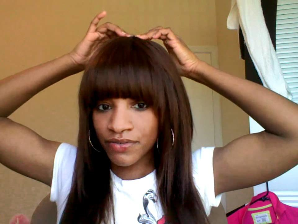 The Best Sew In Weave With Bangs Youtube Pictures
