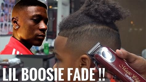 The Best Boosie Fade On Kid Haircut Tutorial Youtube Pictures