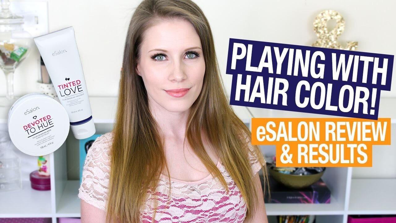 The Best Playing With Hair Color Esalon Treatment Review Results Pictures