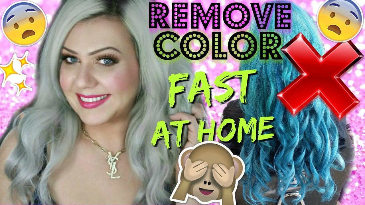 The Best Remove Any Color From Hair No Bleach Step By Step Pictures